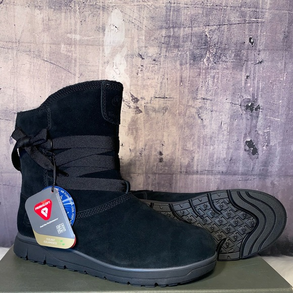 TIMBERLAND WMN S LEIGHLAND PULL-ON WP BTS BLK 0dd9016a3c16